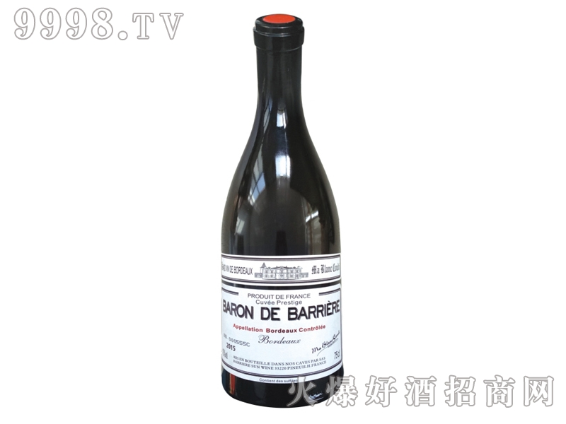 白马康帝柏瑞伯爵干红葡萄酒