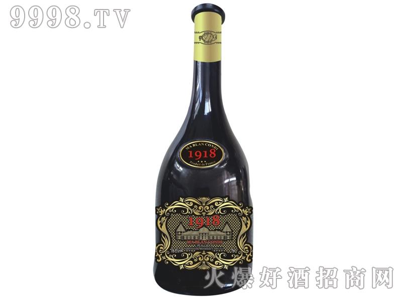 白马康帝西拉子1918干红葡萄酒
