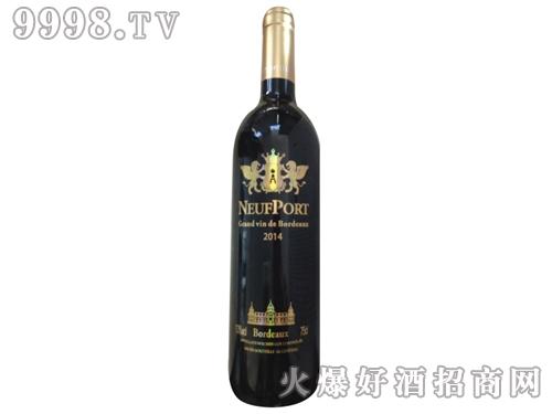 诺波特干红葡萄酒2014