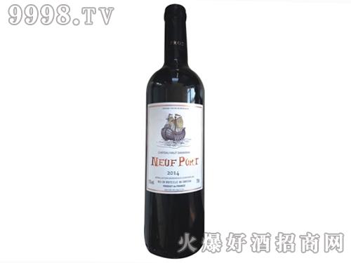 诺波特扬帆干红葡萄酒2014