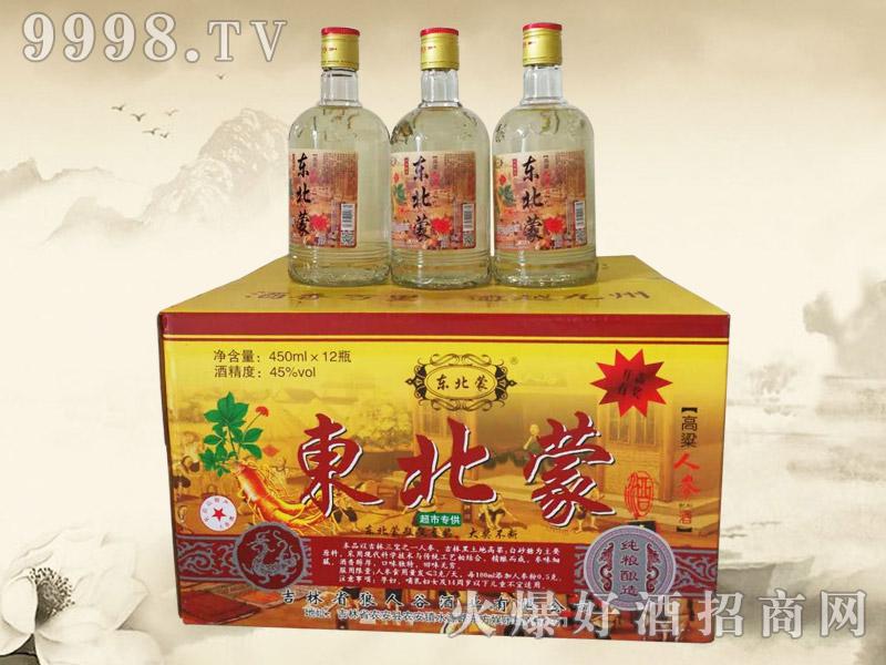 东北蒙高粱人参酒(超市)