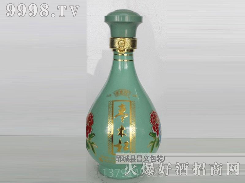 昌义彩瓶CY-034枣木红