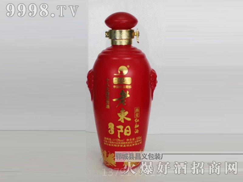 昌义彩瓶CY-023老东阳(红)