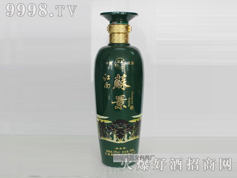 昌义彩瓶CY-018江南苏景酒(清)