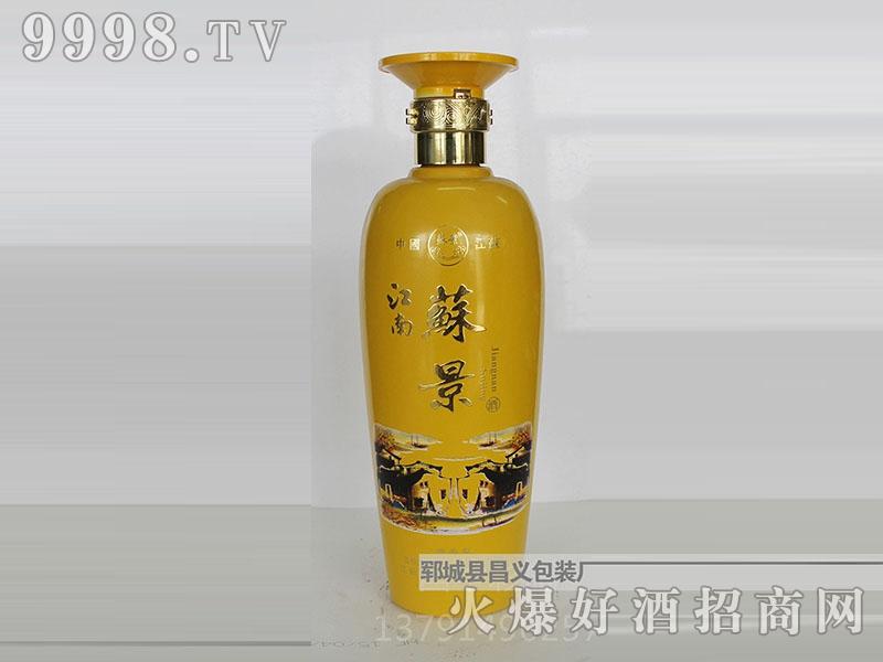 昌义彩瓶CY-017江南苏景酒(黄)