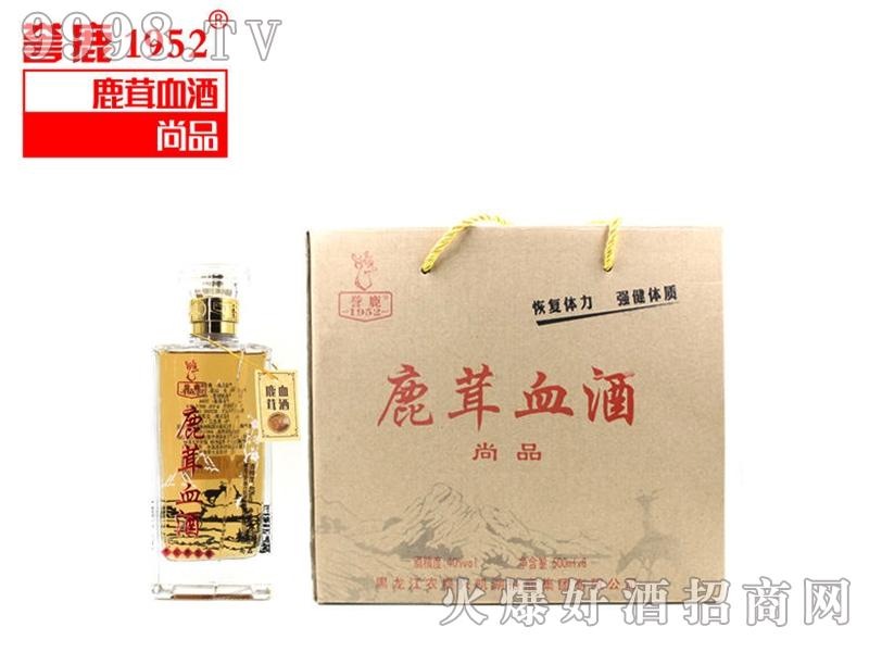 鹿茸血酒-尚品(1*6瓶*500ml)40°