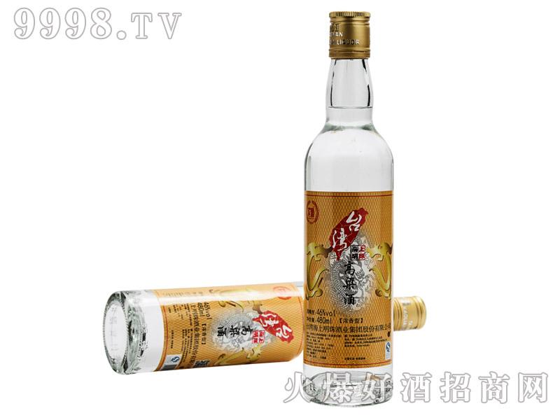 台湾海上明珠高粱酒46度