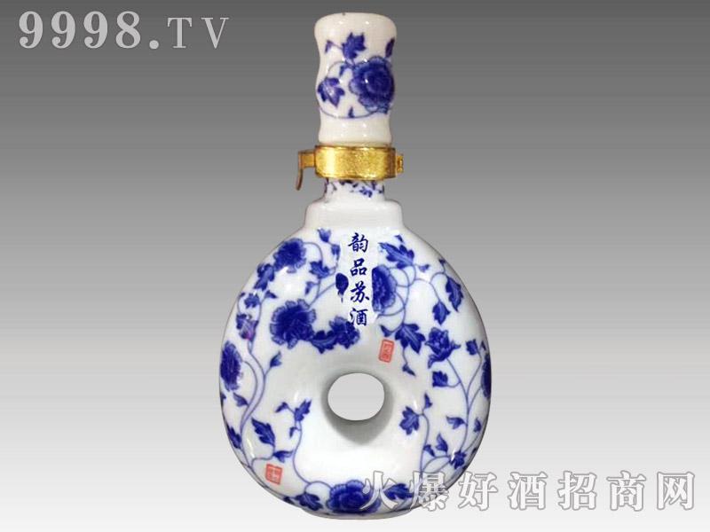 韵品苏酒蓝花瓷