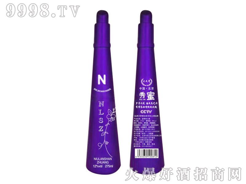 牛栏山庄秀蜜蓝莓利口酒-紫魅公主
