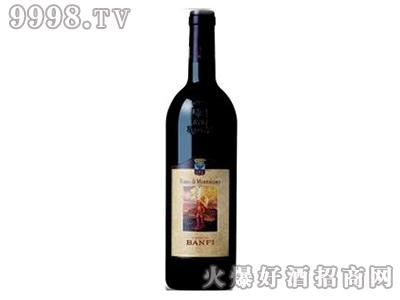 卡斯特罗班菲红葡萄酒