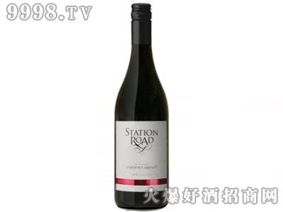 站台之路加本力梅洛葡萄酒