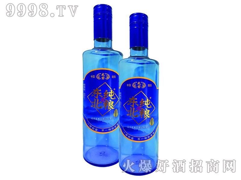 东纯北粮酒・蓝柔光瓶