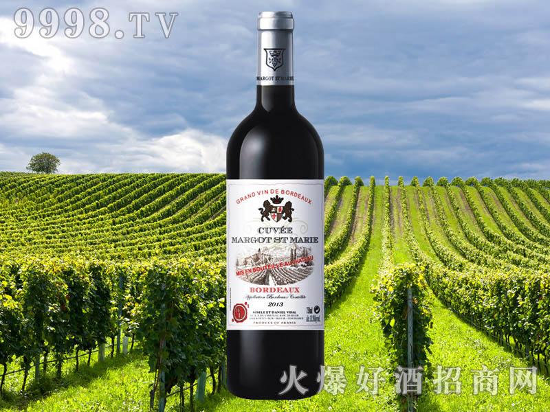 玛歌圣玛丽庄园子爵勋章干红葡萄酒
