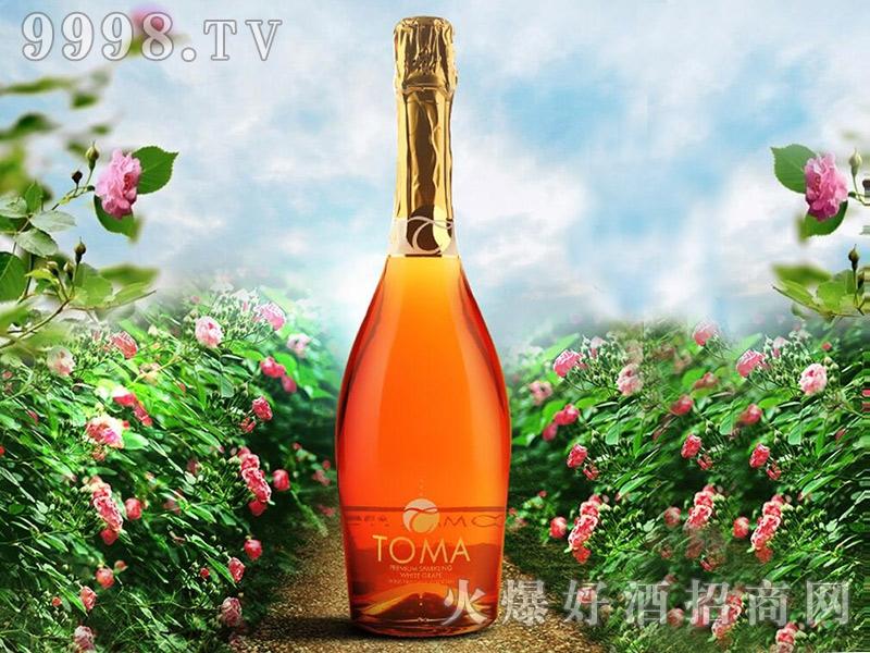 西班牙原瓶原装进口TOMA朵玛甜起泡酒