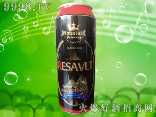 雷诺黑啤酒500ml