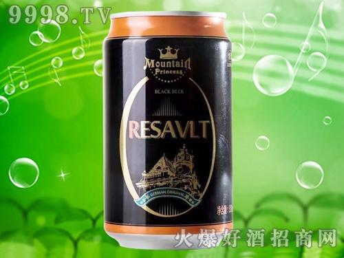 雷诺黑啤酒330ml