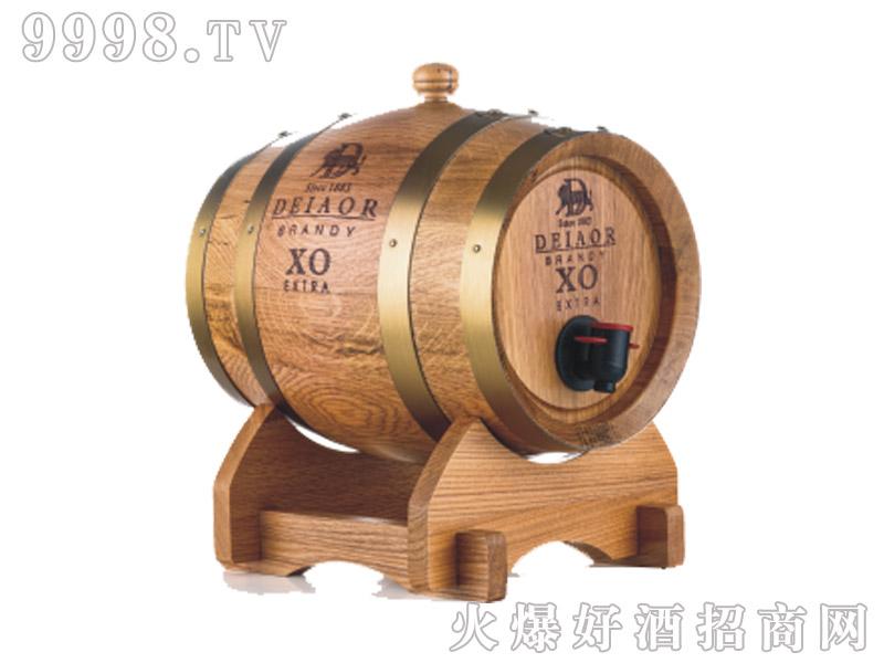 法国岱豪橡木桶窖藏xo白兰地3L
