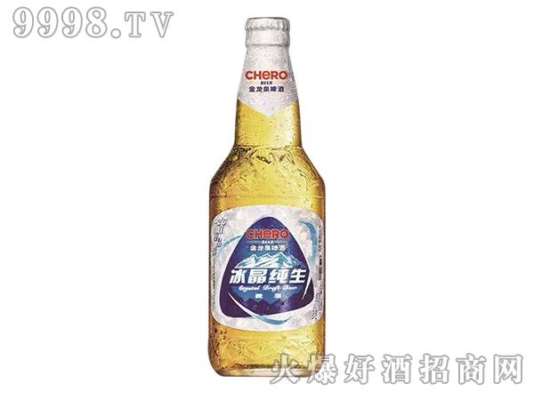 冰晶纯生啤酒