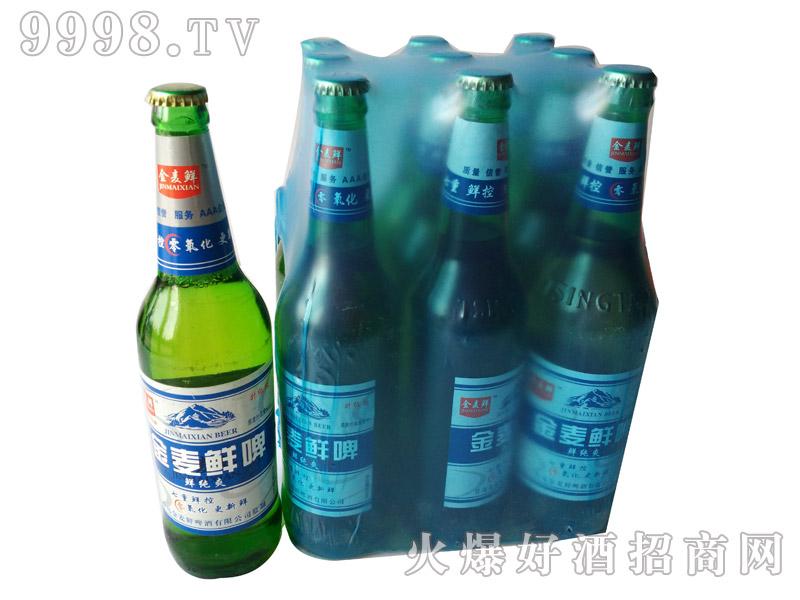 600ml金麦鲜啤酒・鲜纯爽