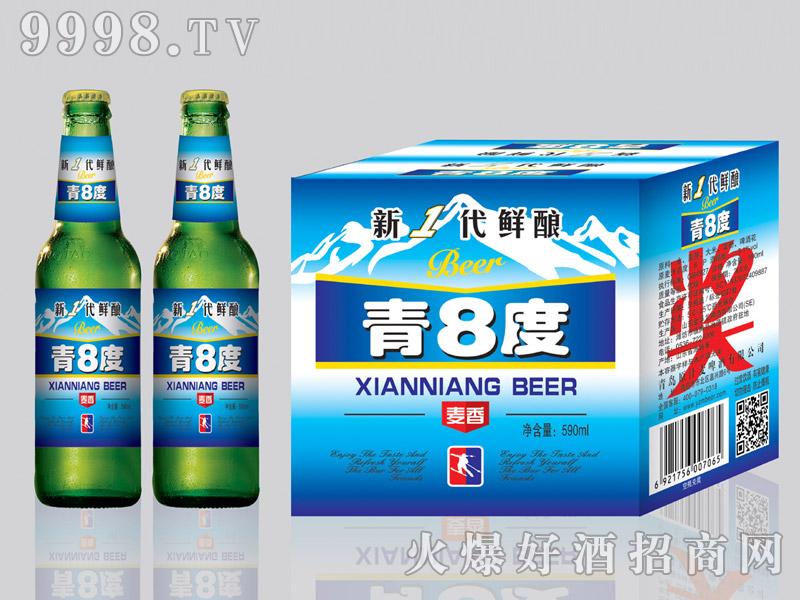 金麦鲜青8度啤酒