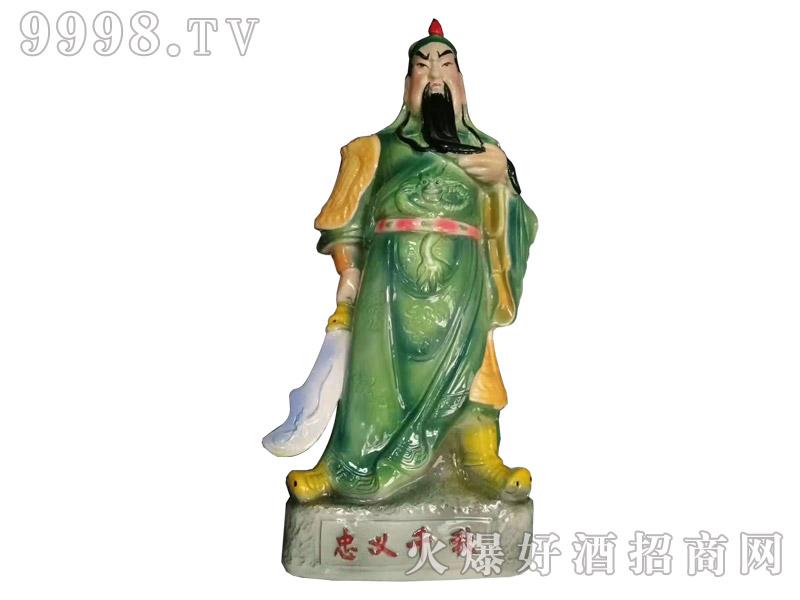 詹仕纯坛子酒关公5斤装