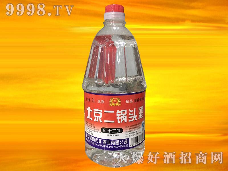军旗百年北京二锅头酒42°2L