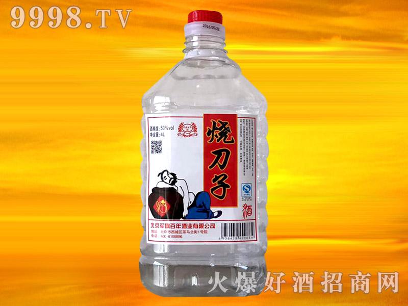 军旗百年烧刀子酒50°4L