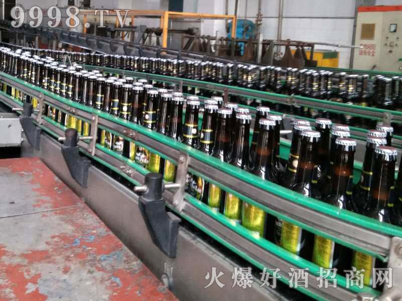 爵士嘉伦啤酒生产线