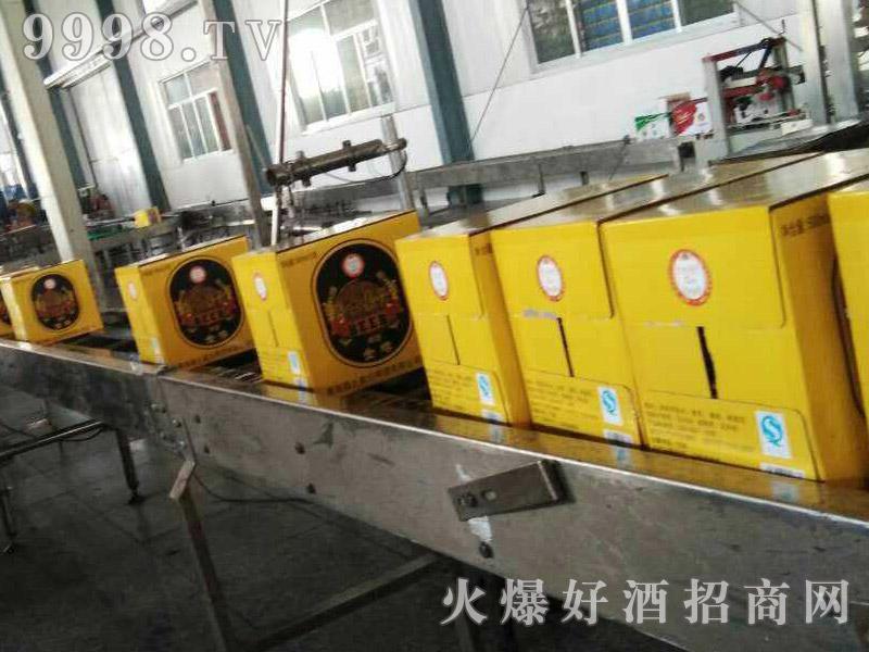 爵士嘉伦啤酒黄罐生产线
