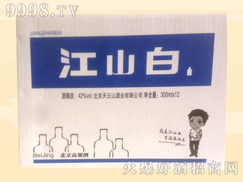 江山白小酒300mlx12