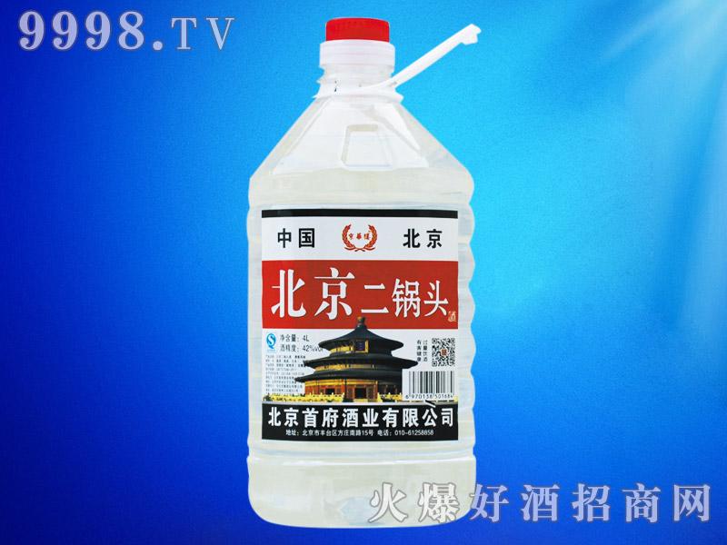 北京二锅头酒50°4L