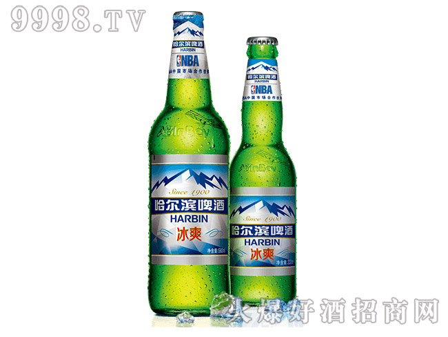 哈尔滨啤酒・冰爽
