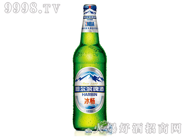 哈尔滨啤酒・冰畅