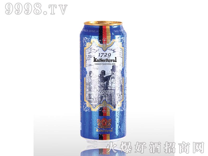 凯撒啤酒原樽500ml-黄啤