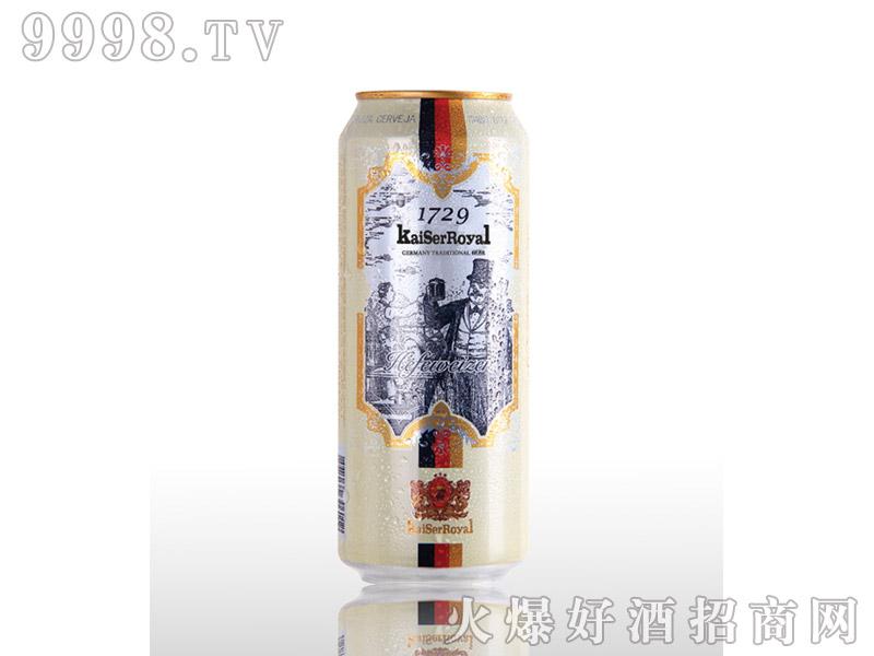 凯撒啤酒原樽500ml-白啤