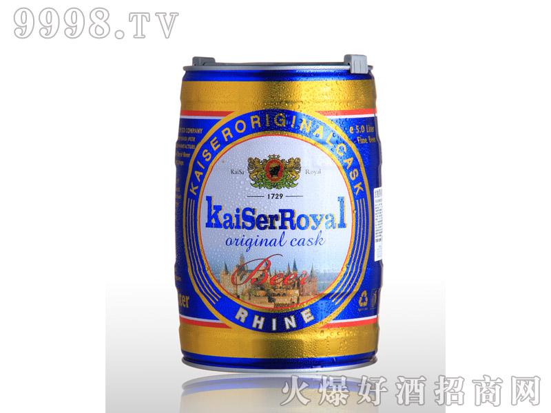 凯撒啤酒原樽5L--黄啤