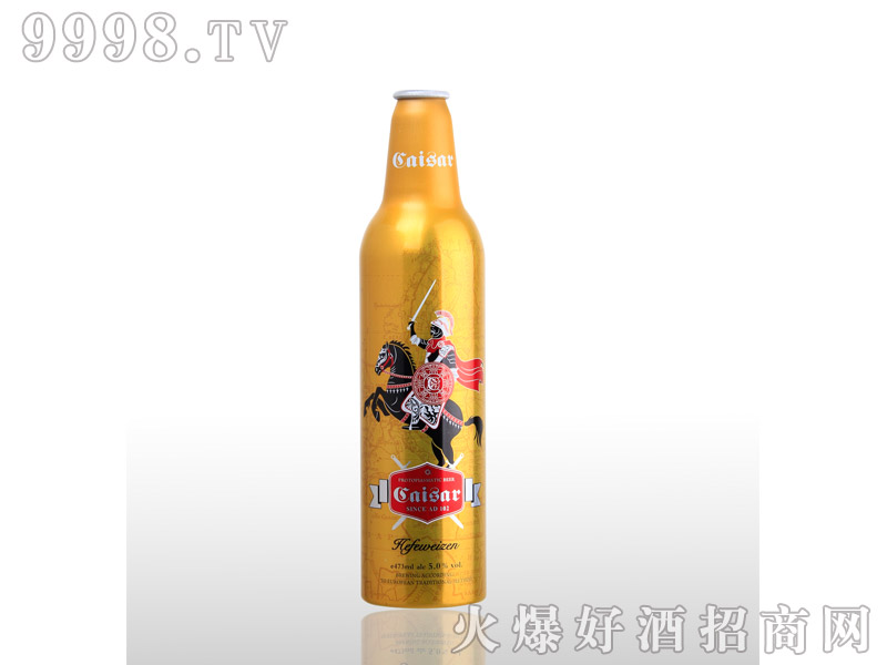 凯撒啤酒恺撒大帝473ml--白啤