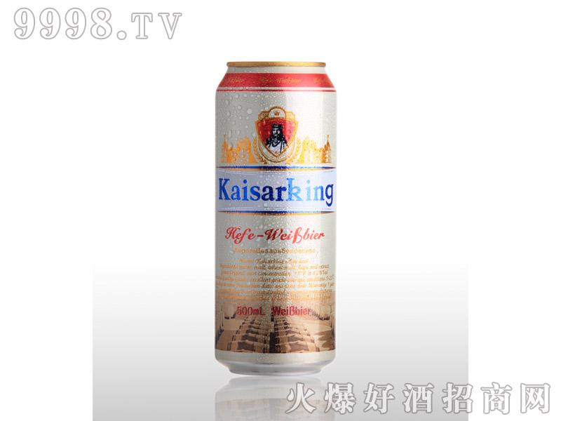 凯撒啤酒凯撒王500ml--白啤