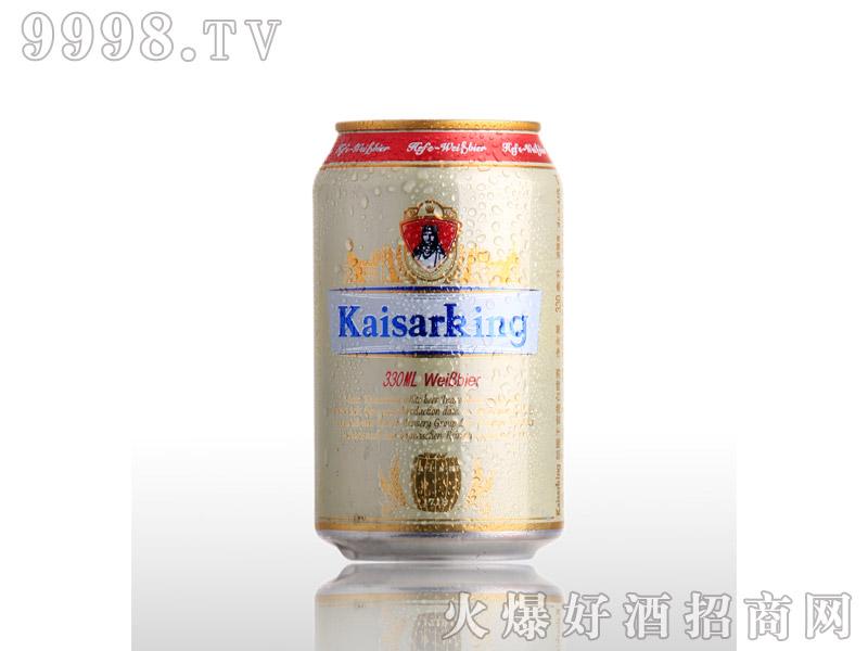 凯撒啤酒凯撒王330ml--白啤