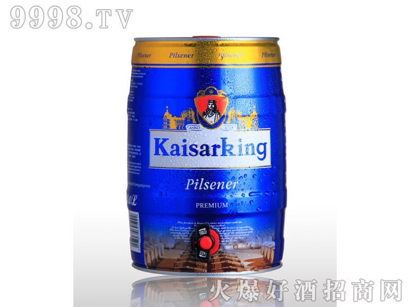 凯撒啤酒凯撒王5L--黄啤