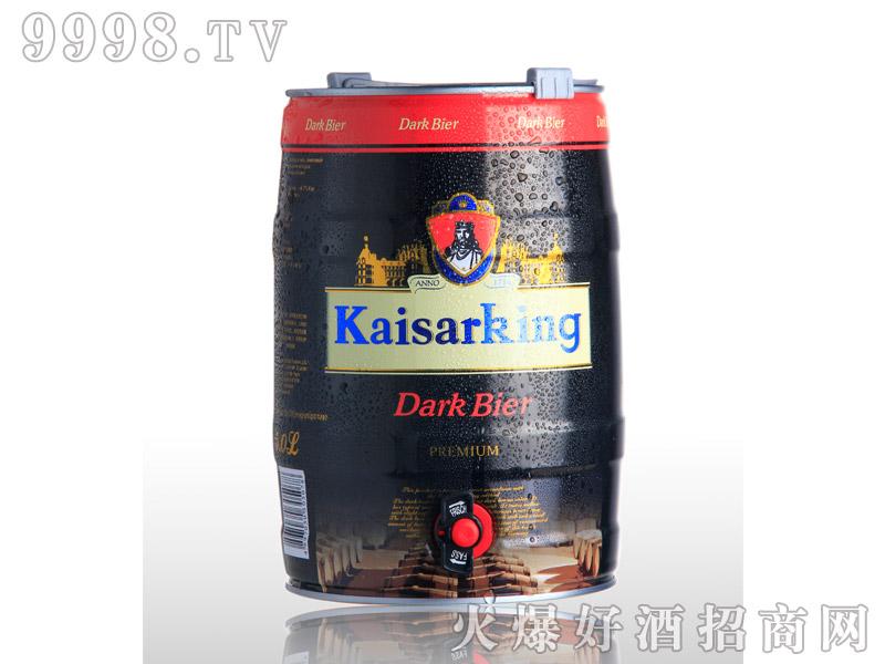 凯撒啤酒凯撒王5L--黑啤