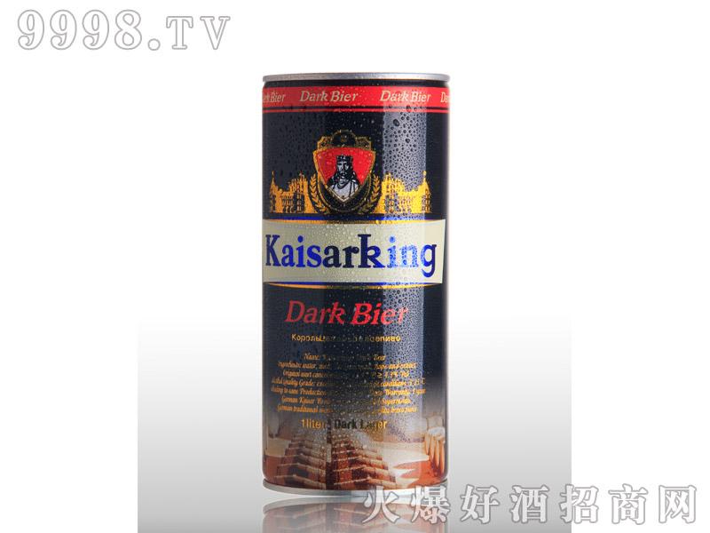 凯撒啤酒凯撒王1L--黑啤