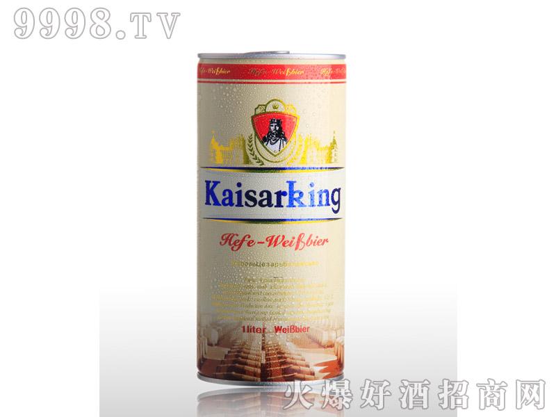 凯撒啤酒凯撒王1L--白啤