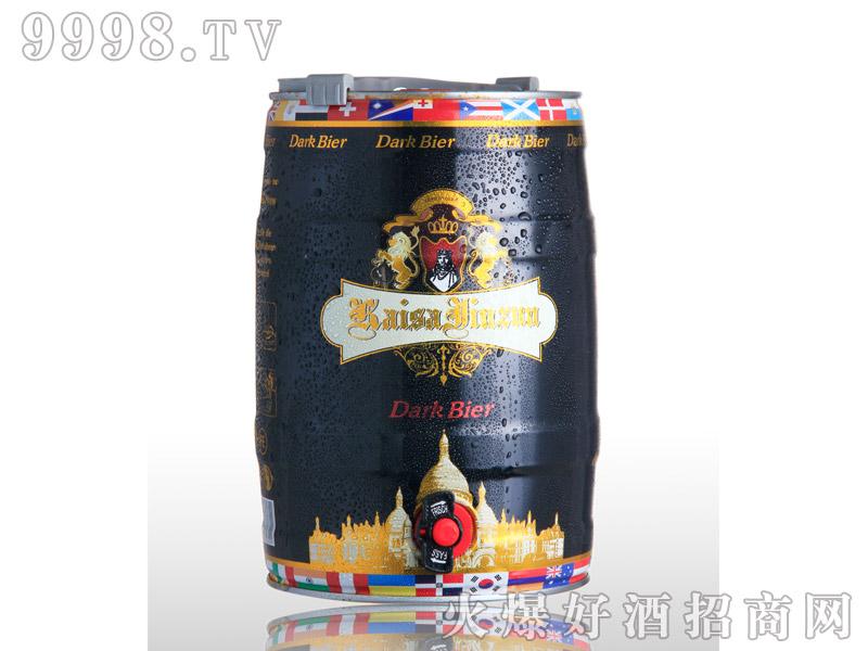 凯撒啤酒金樽5L--黑啤