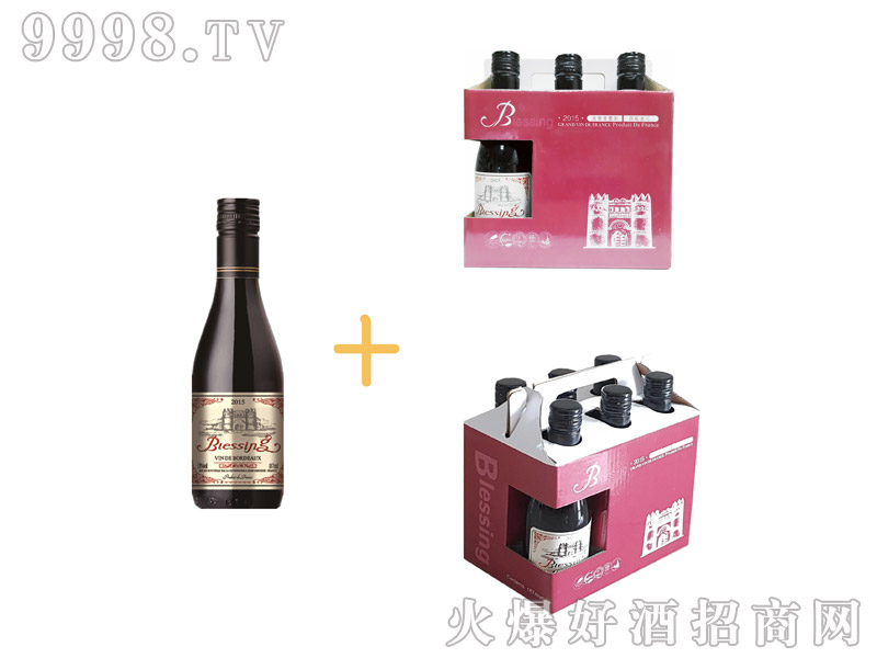 普雷斯干红葡萄酒187ml