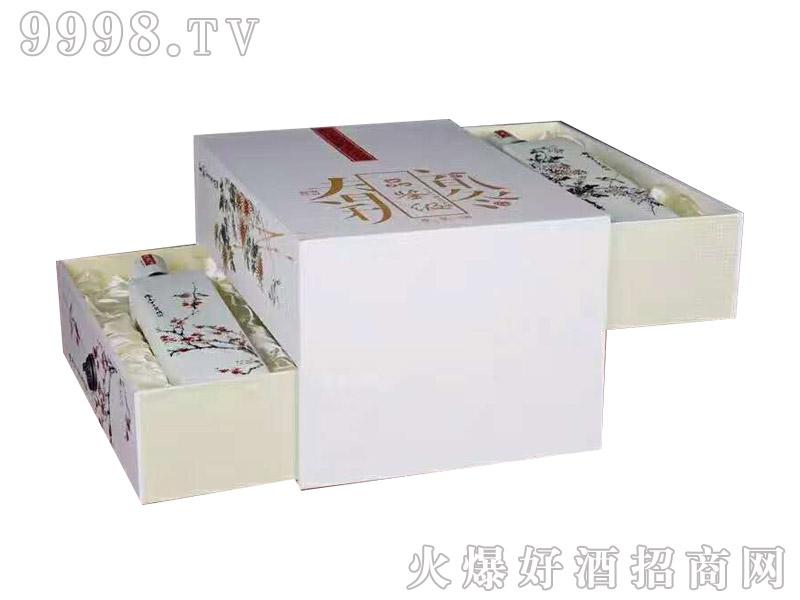 古家百年酒梅兰竹菊礼盒