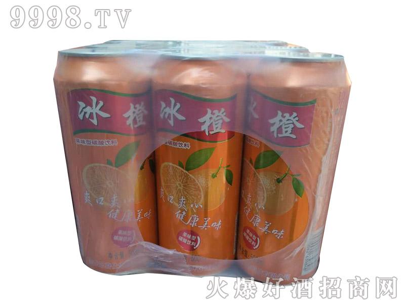 鼎力啤酒冰橙易拉罐