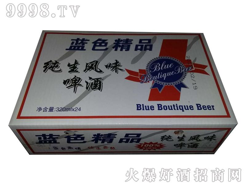 青威蓝色精品啤酒