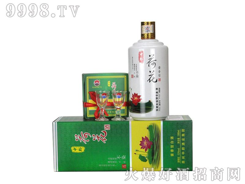 中黔酒业荷花酒(带杯)