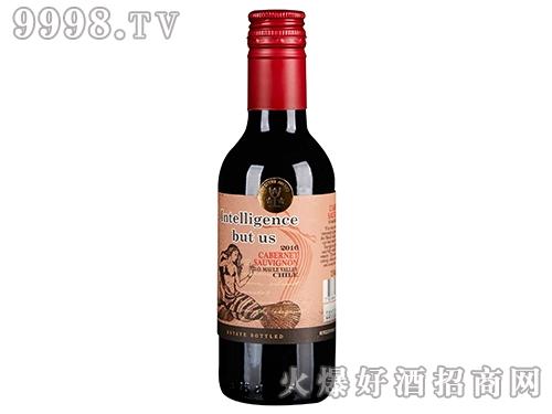 智然美赤霞珠红葡萄酒187ml